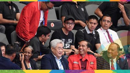 Kebersamaan Imam Nahrawi, Jokowi dan Menpora Malaysia Syed Saddiq. - INDOSPORT