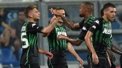 Indosport - Inter Milan akan menjamu Sassuolo di lanjutan Serie A Italia, Kamis (07/04/21) malam. Berikut 3 bintang Neroverdi yang bisa hadirkan kekalahan bagi Nerazzurri.