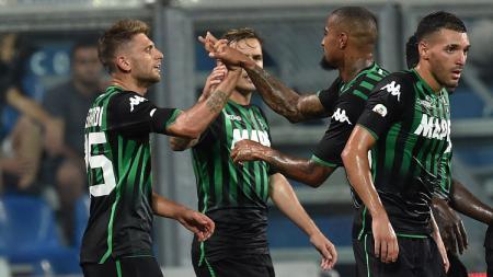 Inter Milan akan menjamu Sassuolo di lanjutan Serie A Italia, Kamis (07/04/21) malam. Berikut 3 bintang Neroverdi yang bisa hadirkan kekalahan bagi Nerazzurri. - INDOSPORT