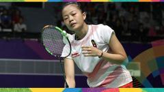 Indosport - Pebulu tangkis tunggal putri Indonesia Fitriani gagal sumbang poin.
