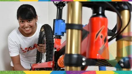 Tiara Andini Prastika sabet medali emas di Asian Games 2018. - INDOSPORT