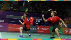 Indosport - Markus Fernaldi Gideon dan Kevin Sanjaya Sukamuljo
