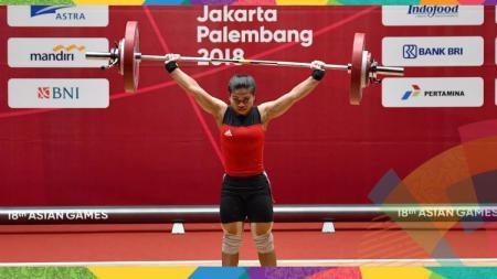 Sri Wahyuni persembahkan medali perak kedua untuk Indonesia di Asian Games 2018. - INDOSPORT
