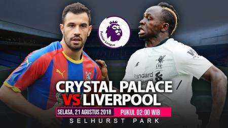 Link Siaran Langsung Liga Inggris: Crystal Palace vs Liverpool - INDOSPORT