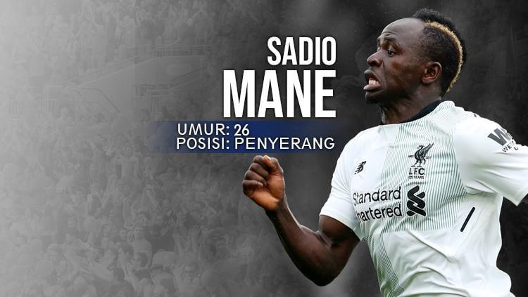 Crystal Palace vs Liverpool Sadio Mane. Copyright: INDOSPORT