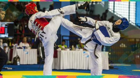 Ilustrasi taekwondo. - INDOSPORT