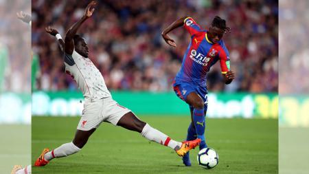 Hasil Pertandingan Babak Pertama Liga Primer Inggris: Crystal Palace vs Liverpool - INDOSPORT