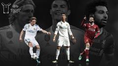 Indosport - Tiga Besar Nominasi Pemain Terbaik UEFA