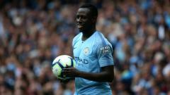 Indosport - Benjamin Mendy, bek sayap kiri Manchester City.