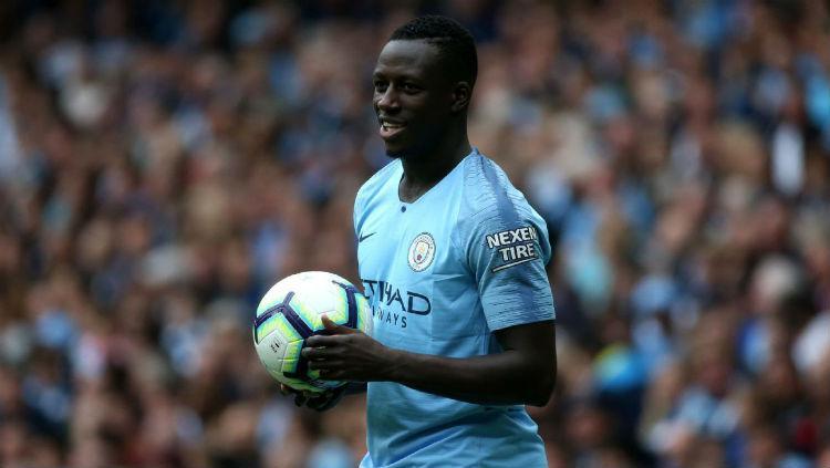 Benjamin Mendy, bek sayap kiri Manchester City. Copyright: ESPN FC