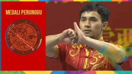 Achmad Hulaefi raih medali perunggu Asian Games 2018. - INDOSPORT
