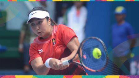 Aldila Sutjiadi/Eudice Chong berhasil menjuarai turnamen ITF Japan 16A sektor ganda putri, Minggu (13/10/19). - INDOSPORT