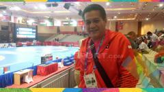 Indosport - Gusti Randa, Manajer Tim Gulat Indonesia.