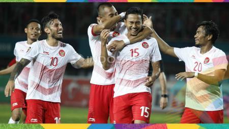 Para pemain Timnas Indonesia U-23 yang membandel akan mendapatkan denda selama Asian Games 2018. - INDOSPORT