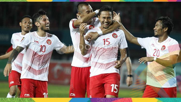 Para pemain Timnas Indonesia U-23 yang membandel akan mendapatkan denda selama Asian Games 2018. Copyright: INDOSPORT