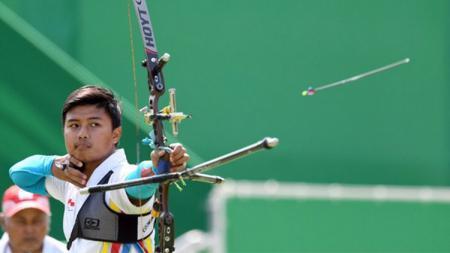 Riau Ega Agatha lolos dari babak kualifikasi Asian Games 2018 - INDOSPORT