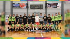 Indosport - Timnas Basket Putri Indonesia.