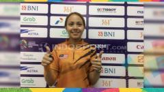 Indosport - Atlet bowling cantik Malaysia, Syaidatul Afifah.