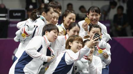 Sejak digelar pada tahun 1977 hingga tahun 2019 lalu, tim bulutangkis Jepang mengalami nasib yang kurang menguntungkan di dua sektor pada turnamen Japan Open. - INDOSPORT