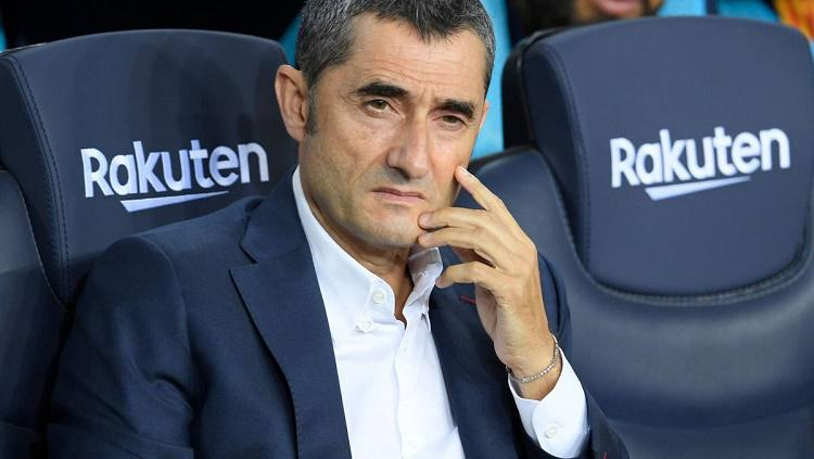 Valverde, sang pelatih klub raksasa Catalan Copyright: as