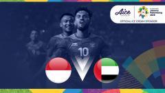 Indosport - Indonesia U23 vs UEA U23.