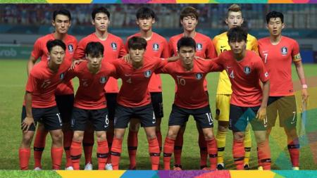 Skuat Korea Selatan di Asian Games 2018. - INDOSPORT