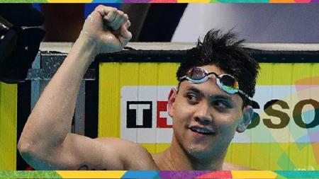 Perenang Singapura di Asian Games 2018, Joseph Schooling. - INDOSPORT