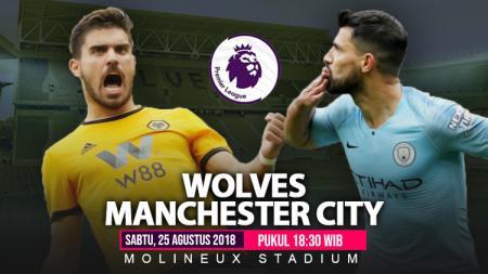 Wolves vs Manchester City. - INDOSPORT