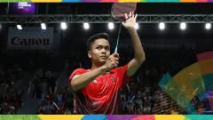 Indosport - Anthony Sinisuka Ginting, pebulutangkis Indonesia.