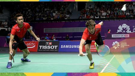 Tontowi Ahmad/Liliyana Natsir, pebulutangkis Indonesia di Asian Games 2018. - INDOSPORT