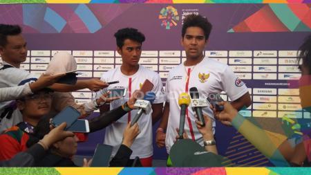 Aqsa Sutan Aswar dan Aero Sutan Aswar meraih medali perak dan perunggu dari jetski Asian Games 2018. - INDOSPORT