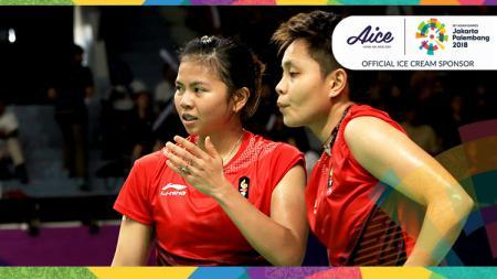 Greysia Polii dan Apriyani Rahayu di Asian Games 2018. - INDOSPORT