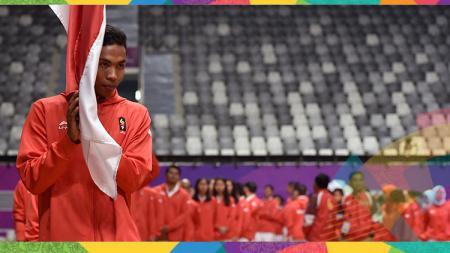 Lalu Muhammad Zohri mencatatkan waktu terbaiknya saat bertanding di final Asian Games 2018. - INDOSPORT