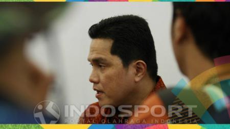 Erick Thohir meminta maaf kepada masyarakat Indonesia setelah Asian Games 2018 berakhir. - INDOSPORT