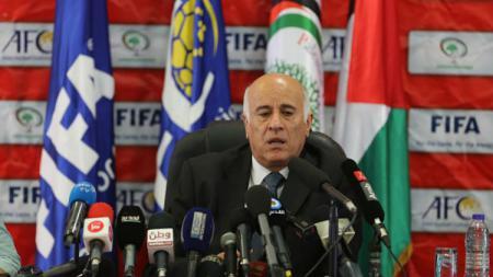 Presiden Federasi Sepak Bola Palestina, Jibril Rajoub. - INDOSPORT