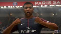 Indosport - Kylan Mbappe di FIFA 19