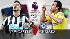 Indosport - Newcastle United vs Chelsea.
