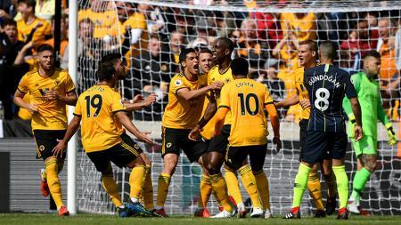 Wolverhampton vs Manchester City - INDOSPORT