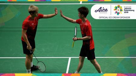 Marcus Gideon/Kevin Sanjaya maju ke perempat final setelah mengalahkan Takuto Inoue/Yuki Kaneko. - INDOSPORT