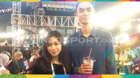 Pasangan muda-mudi pun menikmati deretan hiburan yang disajikan di arena Jakabaring Sport City (JSC). - INDOSPORT