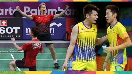 Kevin Sanjaya/Marcus Gideon berpeluang besar menjadi 'mimpi buruk' bagi ganda putra Malaysia di Korea Open 2019, bagaimana caranya? - INDOSPORT