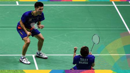 Pelatih ganda putra Malaysia, Paulus Firman, memberi peringatan kepada seluruh pemainnya untuk memperbaiki perfoma mereka jika ingin tampil di Olimpiade 2020. - INDOSPORT
