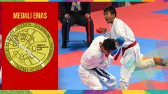 Indosport - Rifki Ardiansyah Arrosyiid sumbang medali di cabor Karate Asian Games 2018.