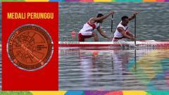 Indosport - Tim Indonesia cabor Canoe sabet medali perunggu di Asian Games 2018.