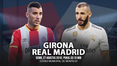 Girona vs Real Madrid. - INDOSPORT