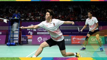 Tontowi/Liliyana di babak semifinal Asian Games 2018. - INDOSPORT