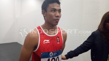 Salah satu atlet lari terbaik Indonesia, Lalu Muhammad Zohri. - INDOSPORT