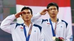 Indosport - Hendra Setiawan/Mohammad Ahsan di Asian Games 2014.