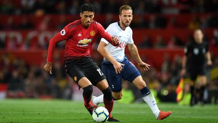 Pertandingan Liga Primer Inggris: Manchester United vs Tottenham Hotspur. - INDOSPORT