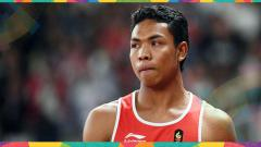 Indosport - Lalu Muhammad Zohri raih medali perak di Asian Games 2018.